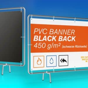 Black Back Banner