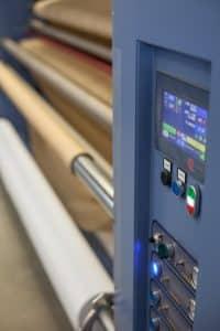 Druckmaschine zum Banner bedrucken