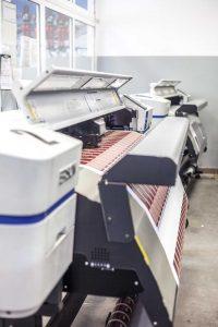 Bannerdruck auf unseren digital Druckmaschinen der Firma Epson