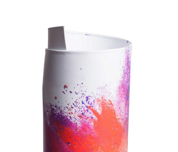 Eingerolltes, farbig bedrucktes PVC Frontlit 510g Material umweltfreundlicher Latexdruck ohne Oese