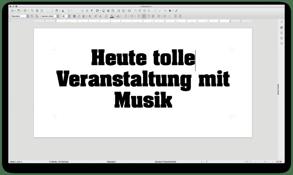Gestalteter Banner