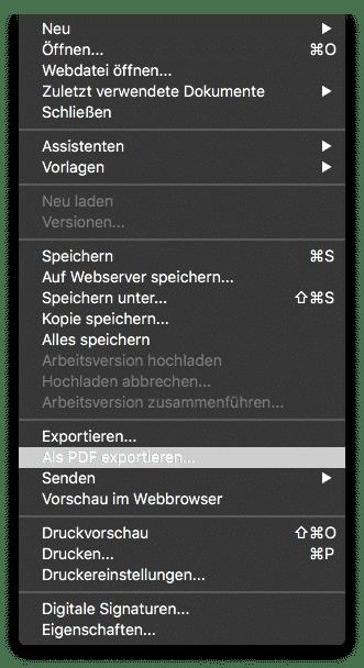 Ofice PDF Export