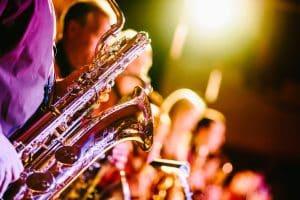 Konzert - Detailaufnahme der Instrumente