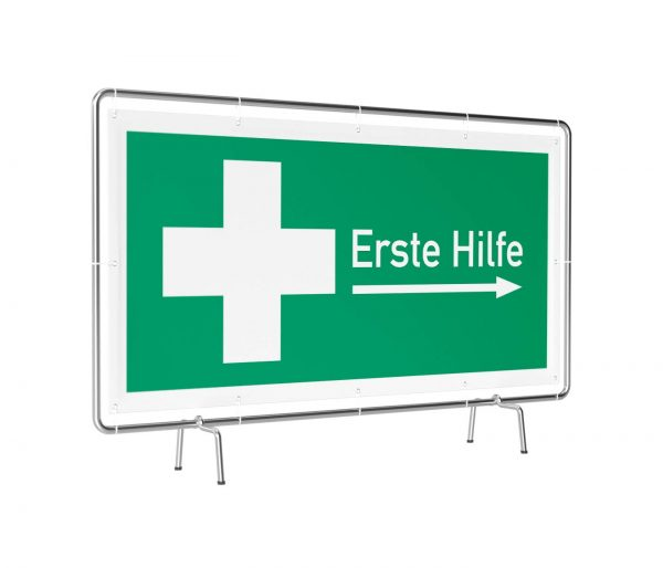 Erste Hilfe rechts Banner