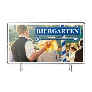 Biergarten rechts Banner