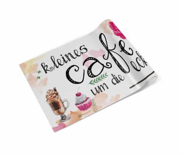 Kleines Cafe um die Ecke Banner