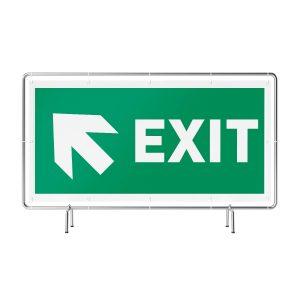 Exit links oben Banner