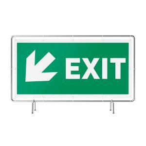 Exit links unten Banner