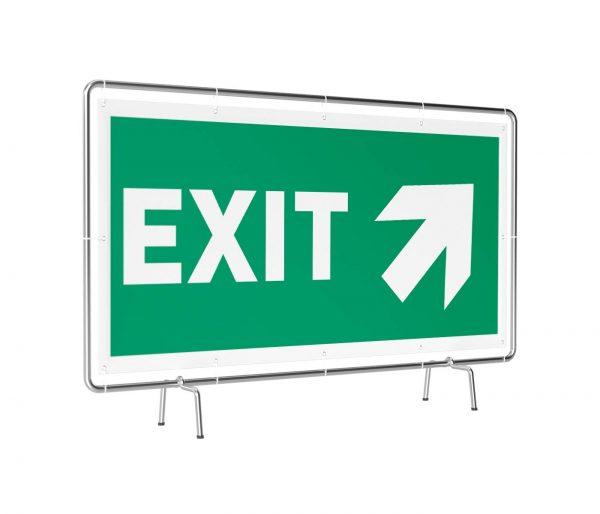 Exit rechts oben Banner