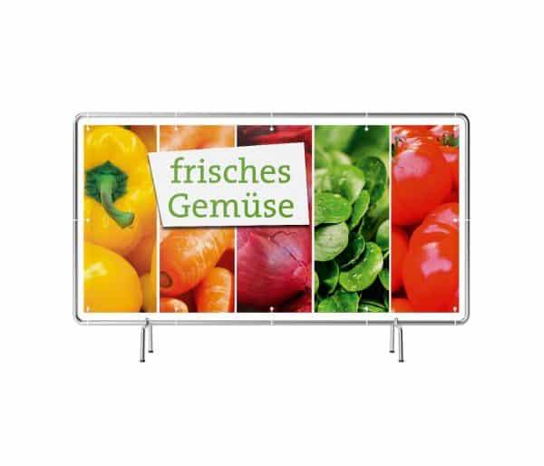 Frisches Gemüse Banner