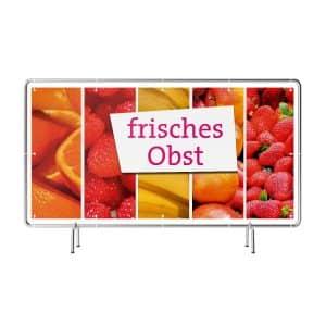 Frisches Obst Banner