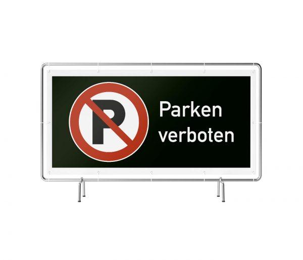 Parken verboten Banner