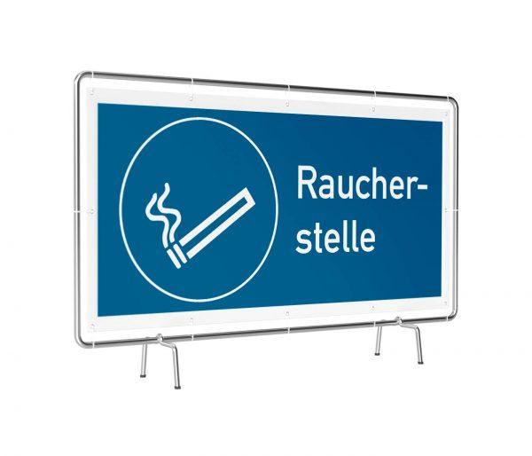Raucherstelle Banner