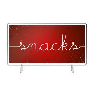 Snacks rot Banner