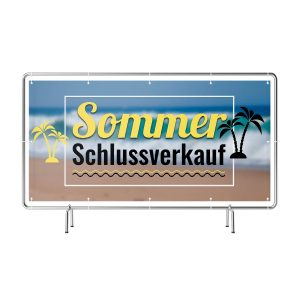 Sommer Schlussverkauf Banner