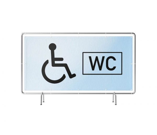 WC Standard Rollstuhl Banner