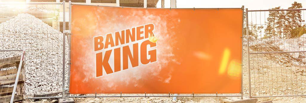 Bauzaunbanner als Werbemittel vor Baustelle