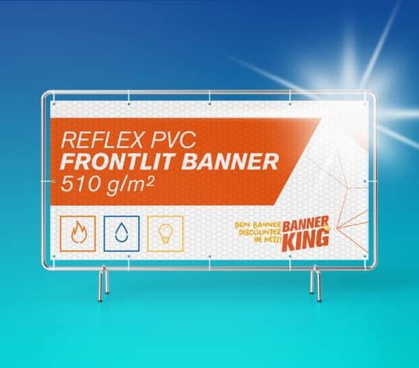 Reflektierender PVC Banner