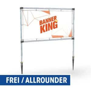 Banner Rahmen Allrounder von Banner King als Montage Zeichnung
