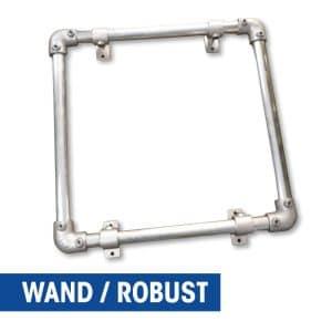 Banner-Wandrahmen - Robust