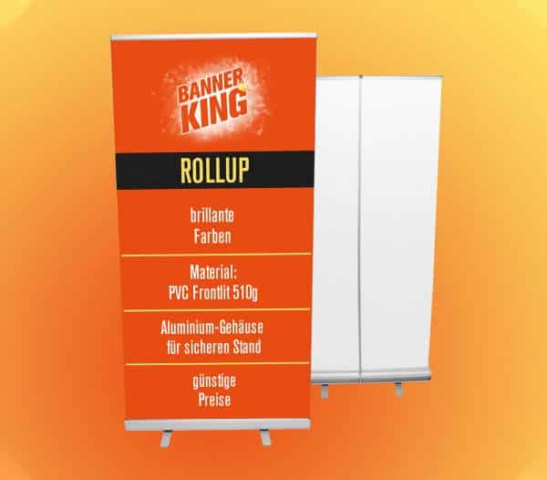 Premium Rollup Display