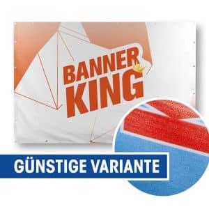 "Frontlit PVC ""Budget"" Banner"