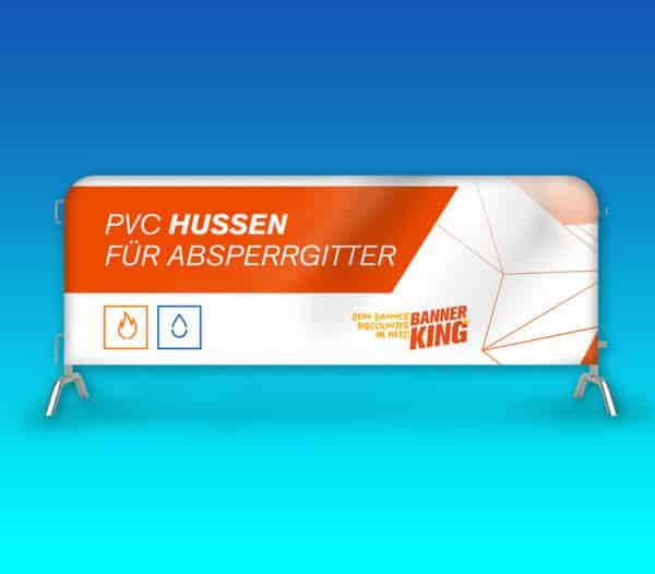 Hussen für Absperrgitter 200x180 cm