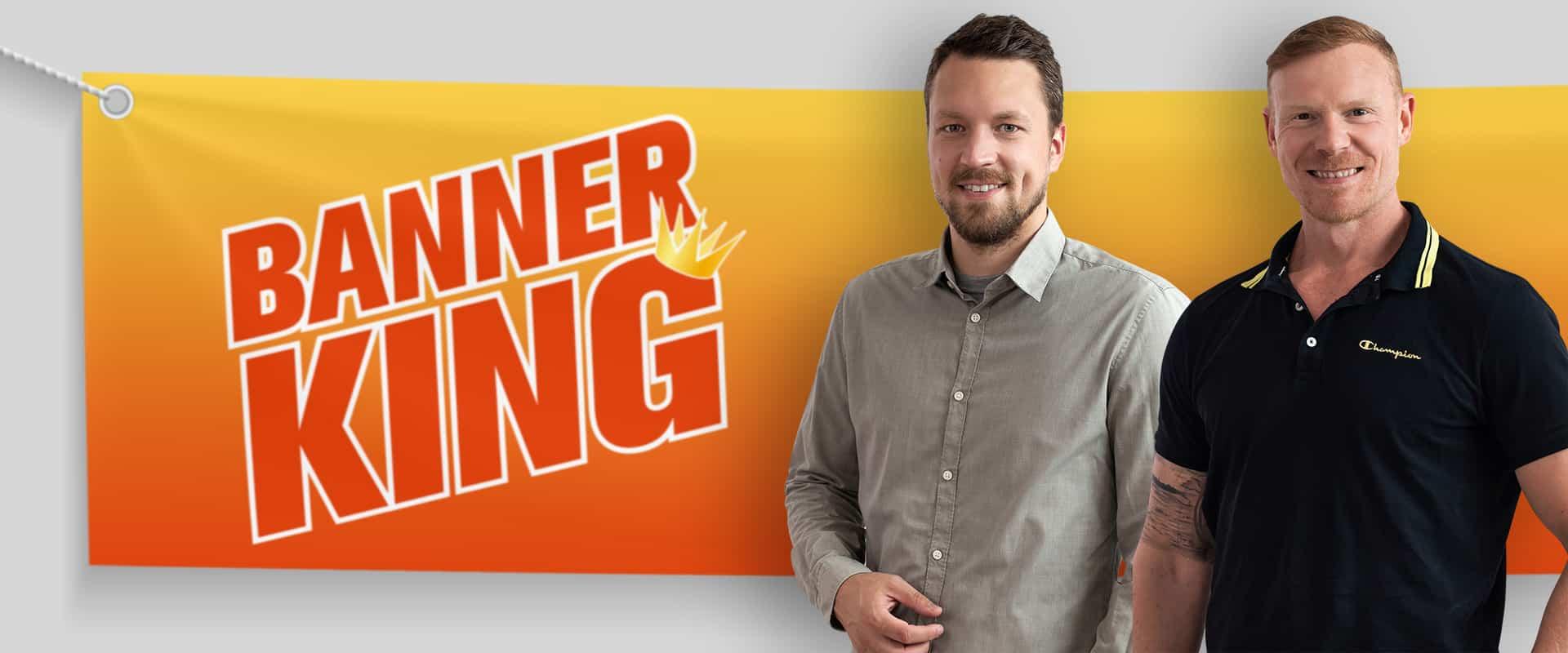 Banner King Über uns: Alex Heuberger und Dieter Galambos